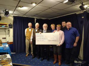 ASNP Conservative Club Cheque Presentation 2020